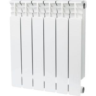 Радиатор STOUT 500 6 секций биметаллический