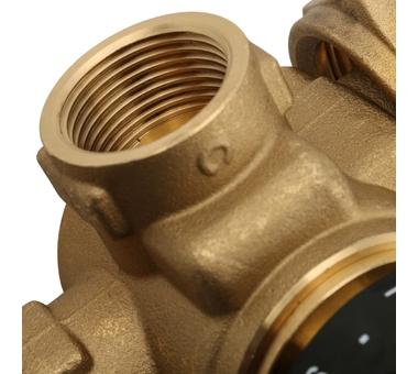 SDG-0020-001000 STOUT Насосно-смесительный узел с термостатическим клапаном, без насоса