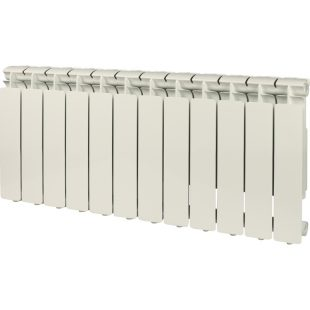 STOUT Bravo 350 12 секции радиатор алюминиевый