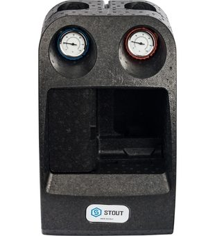 SDG-0003-002501 STOUT Насосная группа с 3-х ходовым приводным смесителем 1″ без насоса