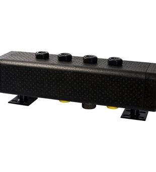 SDG-0016-005002 STOUT Стальной распределительный коллектор 2 отопительных контура. В теплоизоляции DN 32