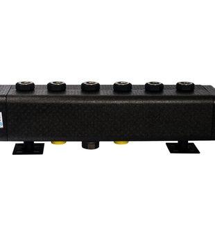 SDG-0016-005003 STOUT Стальной распределительный коллектор 3 отопительных контура. В теплоизоляции DN 321