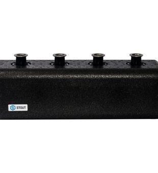 SDG-0018-004002 STOUT Стальной распределительный коллектор 2 отопительных контура с гидравлическим разделителем DN 251