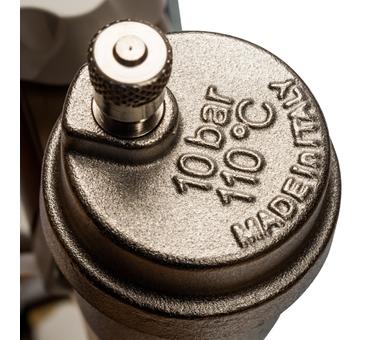SMB 0468 000008 STOUT Распределительный коллектор из латуни без расходомеров 8 вых.5