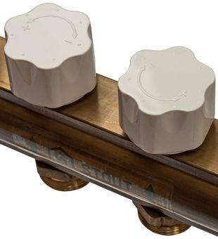 SMB 0468 000008 STOUT Распределительный коллектор из латуни без расходомеров 8 вых.9