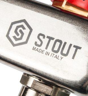 SMS 0907 000002 STOUT Коллектор из нержавеющей стали в сборе с расходомерами 2 вых.