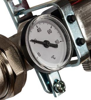 SMS 0907 000006 STOUT Коллектор из нержавеющей стали в сборе с расходомерами 6 вых.2