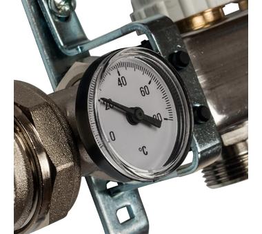 SMS 0907 000006 STOUT Коллектор из нержавеющей стали в сборе с расходомерами 6 вых.3