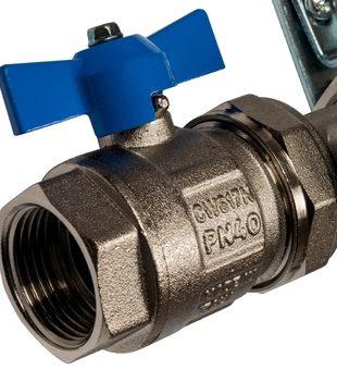 SMS 0907 000006 STOUT Коллектор из нержавеющей стали в сборе с расходомерами 6 вых.5