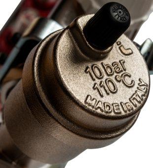SMS 0907 000006 STOUT Коллектор из нержавеющей стали в сборе с расходомерами 6 вых.6