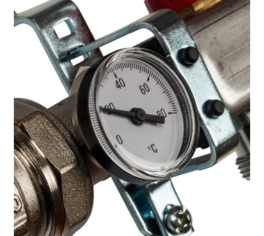 SMS 0907 000007 STOUT Коллектор из нержавеющей стали в сборе с расходомерами 7 вых.2