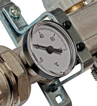 SMS 0907 000007 STOUT Коллектор из нержавеющей стали в сборе с расходомерами 7 вых.3