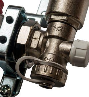 SMS 0907 000007 STOUT Коллектор из нержавеющей стали в сборе с расходомерами 7 вых.7