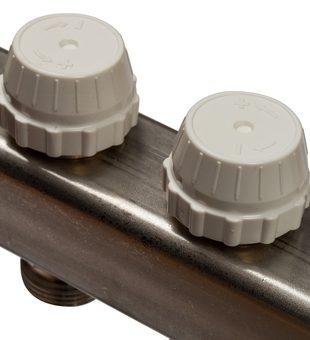 SMS 0907 000007 STOUT Коллектор из нержавеющей стали в сборе с расходомерами 7 вых.9