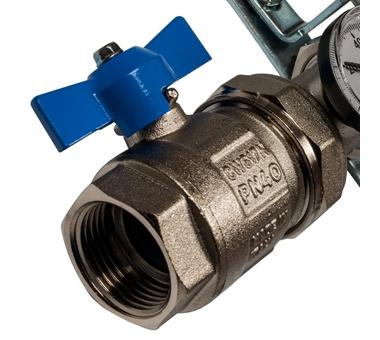 SMS 0907 000008 STOUT Коллектор из нержавеющей стали в сборе с расходомерами 8 вых.4