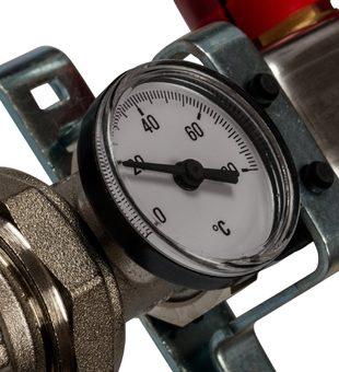 SMS 0907 000010 STOUT Коллектор из нержавеющей стали в сборе с расходомерами 10 вых.2