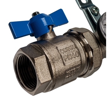 SMS 0907 000010 STOUT Коллектор из нержавеющей стали в сборе с расходомерами 10 вых.5