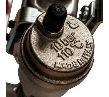 SMS 0907 000010 STOUT Коллектор из нержавеющей стали в сборе с расходомерами 10 вых.6