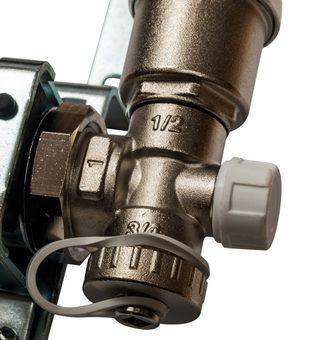 SMS 0907 000011 STOUT Коллектор из нержавеющей стали в сборе с расходомерами 11 вых.7