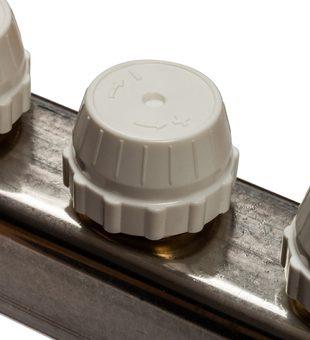 SMS 0907 000011 STOUT Коллектор из нержавеющей стали в сборе с расходомерами 11 вых.9
