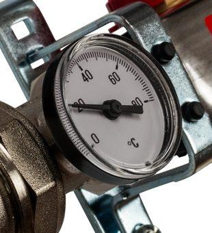 SMS 0907 000012 STOUT Коллектор из нержавеющей стали в сборе с расходомерами 12 вых.2
