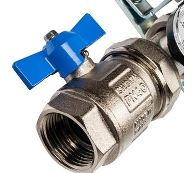 SMS 0912 000002 STOUT Коллектор из нержавеющей стали в сборе без расходомеров 2 вых.2