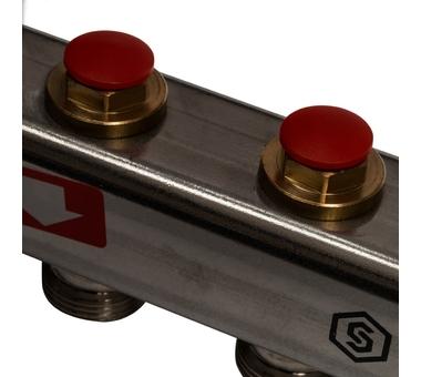 SMS 0912 000003 STOUT Коллектор из нержавеющей стали в сборе без расходомеров 3 вых.3