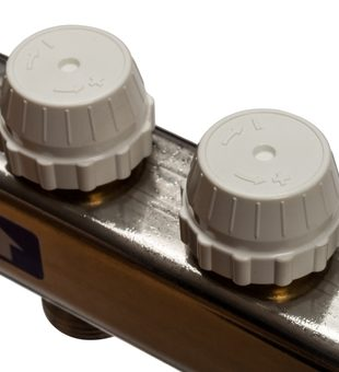 SMS 0912 000005 STOUT Коллектор из нержавеющей стали в сборе без расходомеров 5 вых.