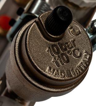 SMS 0912 000006 STOUT Коллектор из нержавеющей стали в сборе без расходомеров 6 вых.6