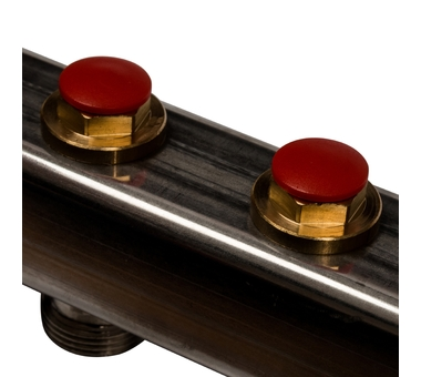 SMS 0912 000006 STOUT Коллектор из нержавеющей стали в сборе без расходомеров 6 вых.8