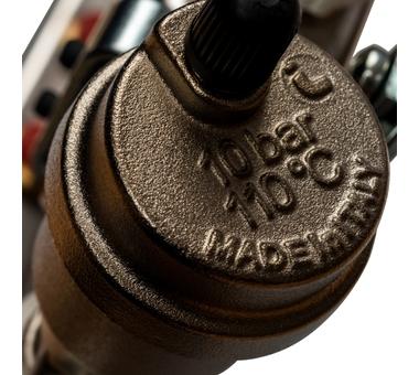 SMS 0912 000008 STOUT Коллектор из нержавеющей стали в сборе без расходомеров 8 вых.6