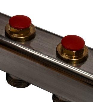 SMS 0912 000008 STOUT Коллектор из нержавеющей стали в сборе без расходомеров 8 вых.8