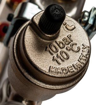 SMS 0912 000009 STOUT Коллектор из нержавеющей стали в сборе без расходомеров 9 вых.6