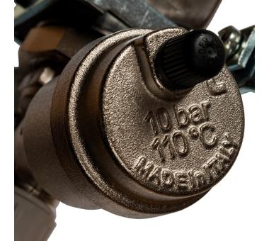 SMS 0912 000010 STOUT Коллектор из нержавеющей стали в сборе без расходомеров 10 вых.6