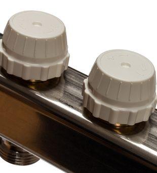 SMS 0912 000010 STOUT Коллектор из нержавеющей стали в сборе без расходомеров 10 вых.9