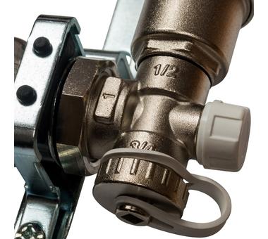 SMS 0912 000011 STOUT Коллектор из нержавеющей стали в сборе без расходомеров 11 вых.6