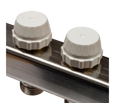 SMS 0917 000005 STOUT Коллектор из нержавеющей стали с расходомерами 5 вых.5
