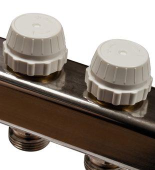 SMS 0917 000006 STOUT Коллектор из нержавеющей стали с расходомерами 6 вых.4