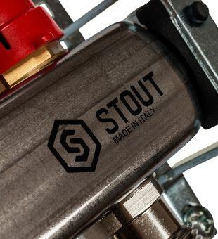 SMS 0917 000006 STOUT Коллектор из нержавеющей стали с расходомерами 6 вых.5