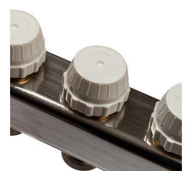 SMS 0917 000009 STOUT Коллектор из нержавеющей стали с расходомерами 9 вых.