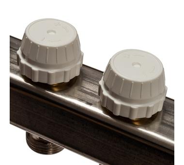 SMS 0917 000010 STOUT Коллектор из нержавеющей стали с расходомерами 10 вых.5