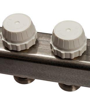 SMS 0917 000011 STOUT Коллектор из нержавеющей стали с расходомерами 11 вых.5