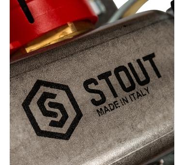 SMS 0917 000011 STOUT Коллектор из нержавеющей стали с расходомерами 11 вых.6