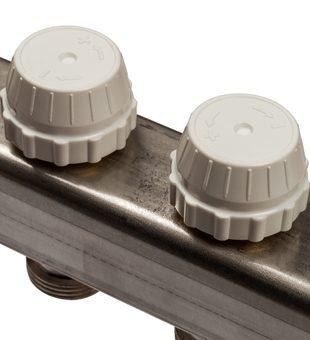 SMS 0917 000012 STOUT Коллектор из нержавеющей стали с расходомерами 12 вых.5