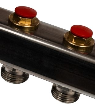 SMS 0922 000004 STOUT Коллектор из нержавеющей стали без расходомеров 4 вых.4