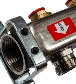 SMS 0922 000005 STOUT Коллектор из нержавеющей стали без расходомеров 5 вых.2