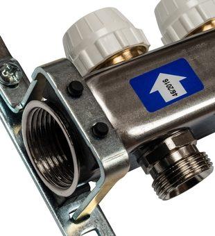 SMS 0922 000005 STOUT Коллектор из нержавеющей стали без расходомеров 5 вых.3