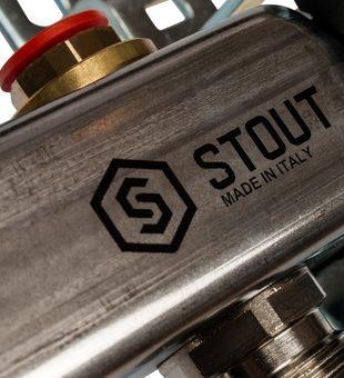 SMS 0922 000005 STOUT Коллектор из нержавеющей стали без расходомеров 5 вых.6