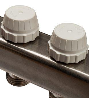 SMS 0922 000007 STOUT Коллектор из нержавеющей стали без расходомеров 7 вых.5