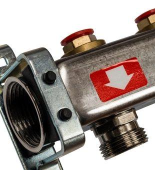 SMS 0922 000012 STOUT Коллектор из нержавеющей стали без расходомеров 12 вых.2